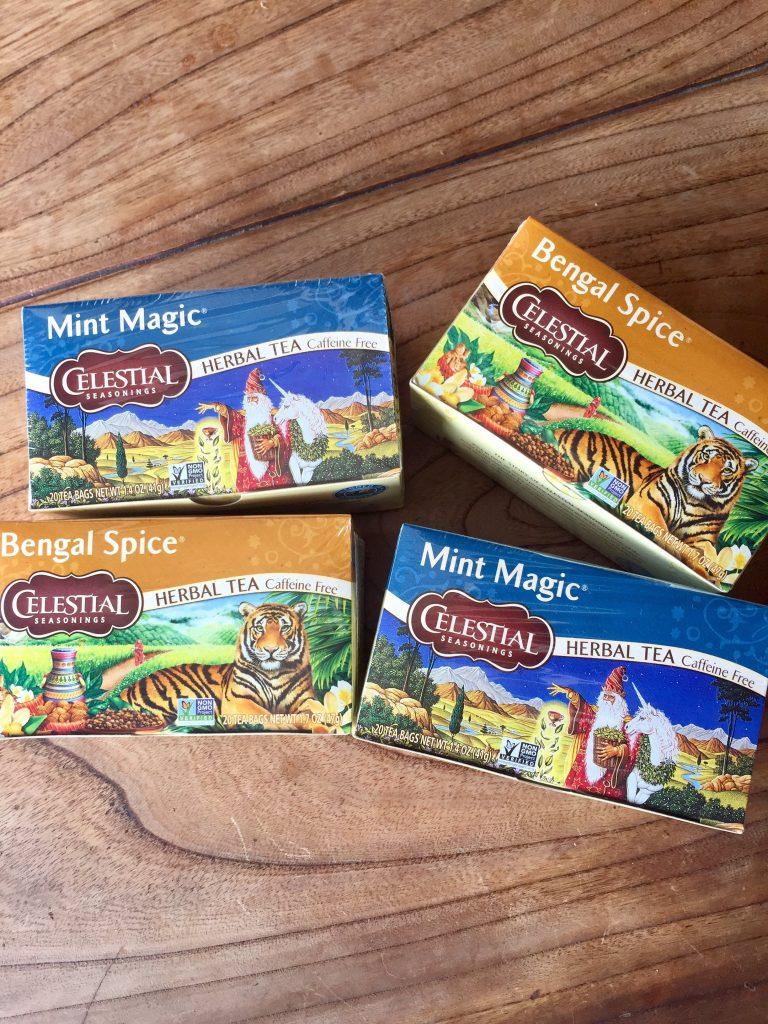 herb tea bengal spice mint magic